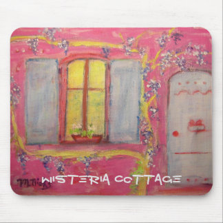 wisteria cottage mouse pad