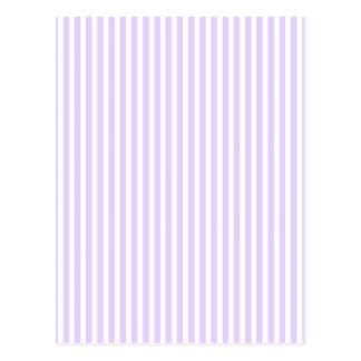Wisteria Lilac Lavender Orchid & White Stripe Postcard