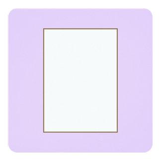 Wisteria Lilac Pastel for Summer Gazebo 13 Cm X 13 Cm Square Invitation Card