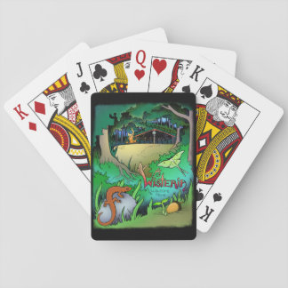 Wisteria Playing Cards