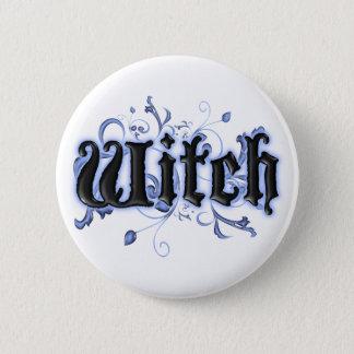 Witch 6 Cm Round Badge