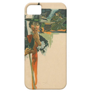 Witch Cauldron Broom Night Witchcraft iPhone 5 Cases