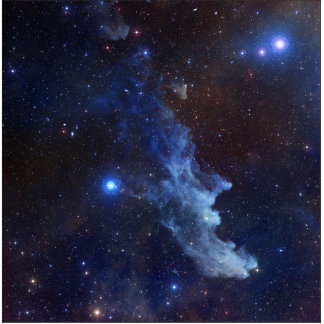 Witch Head Nebula NASA Space Standing Photo Sculpture