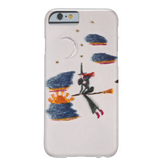 witch on a broom barely there iPhone 6 case
