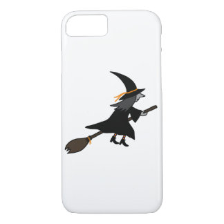 Witch On Her Broom iPhone 7 Case