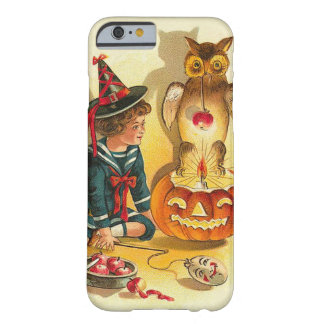 Witch Owl Jack O Lantern Pumpkin Barely There iPhone 6 Case