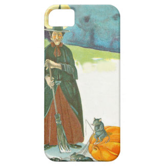 Witch Pumpkin Broom Man In The Moon Mouse iPhone 5 Covers