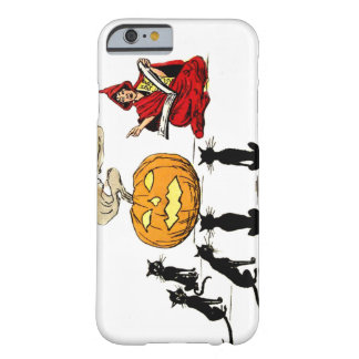 Witch Teaching Black Cat Jack O' Lantern Barely There iPhone 6 Case