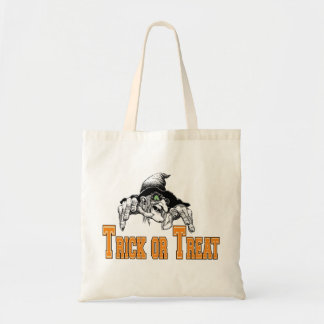 Witch Trick Or Treat Halloween Tote Bag