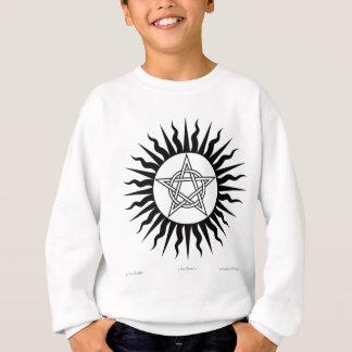 Witchcraft: Sun Burst; Pentagram circle Sweatshirt
