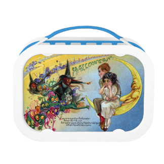 Witches, Goblins & Man in the Moon Halloween Lunchboxes