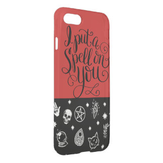Witches Spell iPhone 8/7 Clearly™ Deflector Case