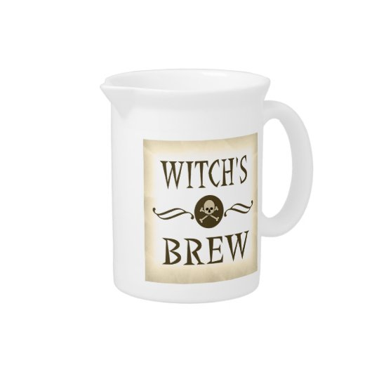 Witch's Brew Halloween Props Haunted House Beverage Pitchers