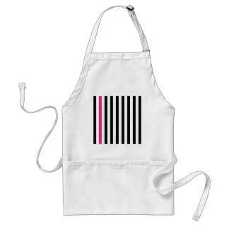 With A Pink Stripe Aprons