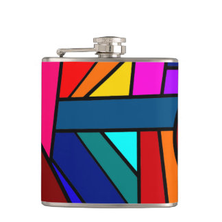 WITH A WINK AND A SMILE! (pattern design) ~ Hip Flask