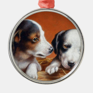 With Hearty Good Wishes by Carl Reichert Christmas Ornament