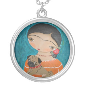 with Pug Necklace