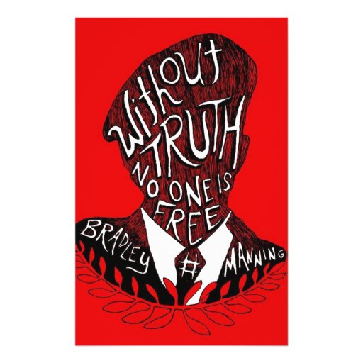 Without Truth, No One is Free Full Color Flyer