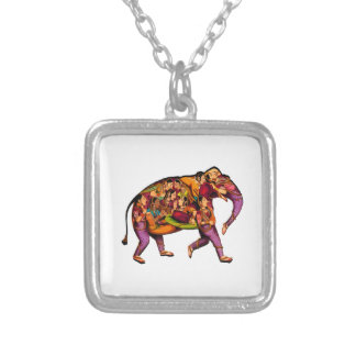WITNESS THE HARMONY SILVER PLATED NECKLACE
