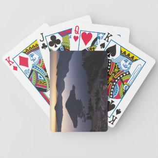 Wizard Island at dawn, Crater Lake National Park Card Deck