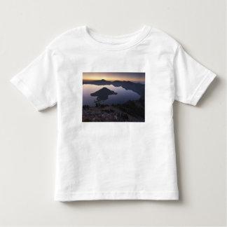 Wizard Island at dawn, Crater Lake National Park T Shirts