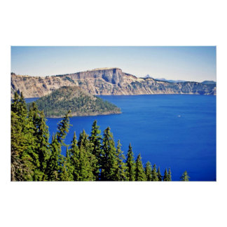 Wizard Island - Crater Lake National Park Print