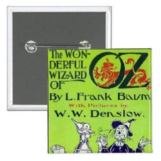 Wizard of Oz 15 Cm Square Badge
