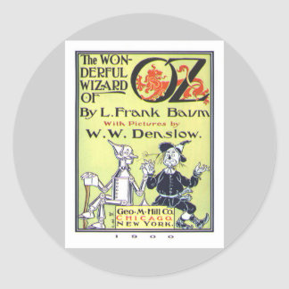 Wizard of Oz Classic Round Sticker