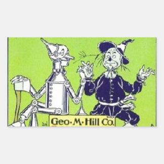 Wizard of Oz Rectangular Sticker