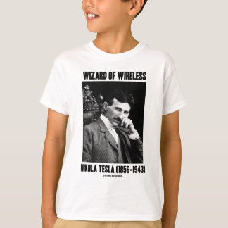Wizard Of Wireless Nikola Tesla T-Shirt