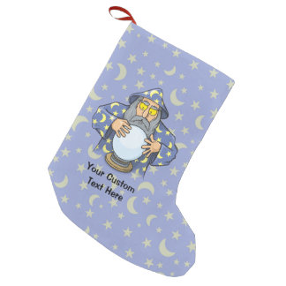 Wizard with Ball Small Christmas Stocking