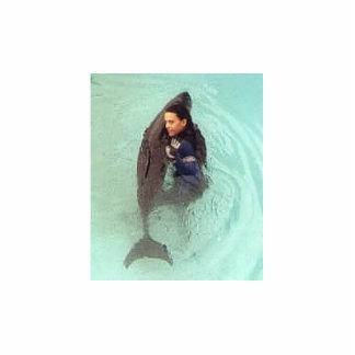 WLS - Whale Sculpture Standing Photo Sculpture