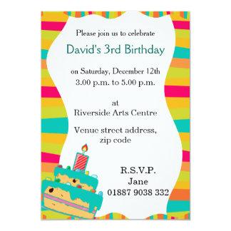 Wobbly Kids Party Invitation