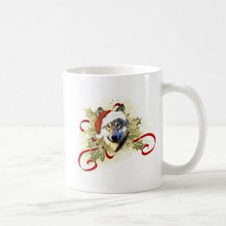 Wolf Christmas Mugs