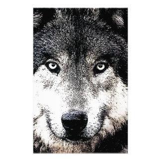 Wolf Eyes Stationery