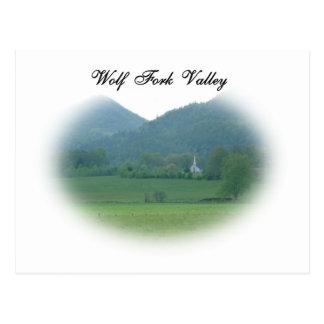 Wolf Fork Valley Postcard