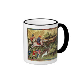 Wolf hunt, from a book coffee mugs