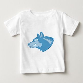 Wolf in Blue Baby T-Shirt