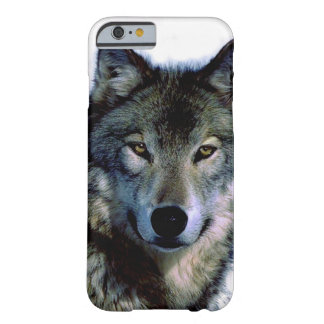 Wolf Portrait Barely There iPhone 6 Case