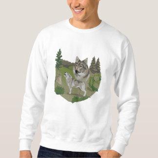 Wolf Spirit Sweatshirts