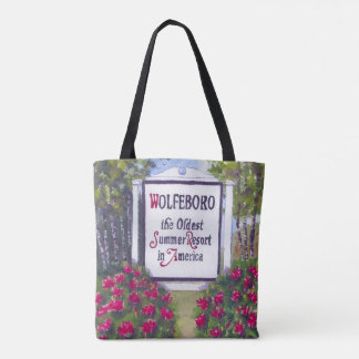 Wolfeboro NH All-Over-Print Tote Bag