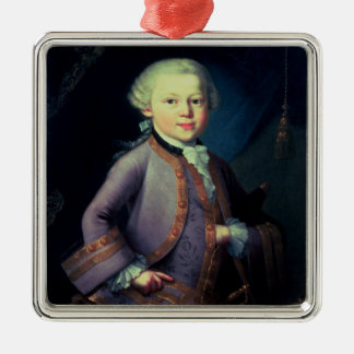 Wolfgang Amadeus Mozart , 1763 Christmas Ornament