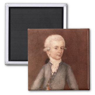 Wolfgang Amadeus Mozart, c.1780 Magnet