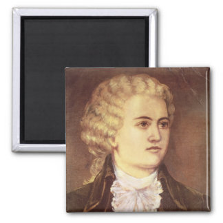 Wolfgang Amadeus Mozart  during his stay Magnet