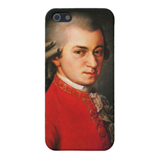 Wolfgang Amadeus Mozart portrait Cover For iPhone 5/5S