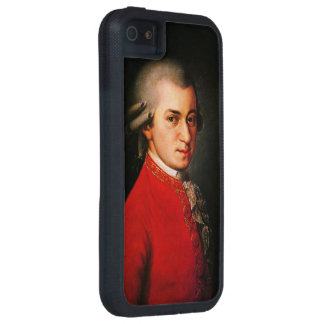 Wolfgang Amadeus Mozart portrait iPhone 5 Covers