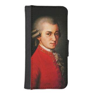 Wolfgang Amadeus Mozart portrait iPhone SE/5/5s Wallet Case