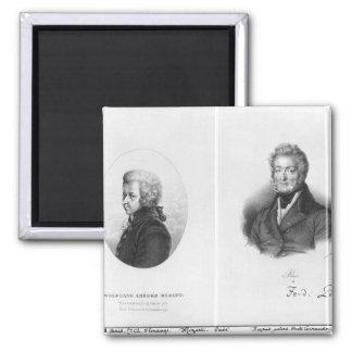 Wolfgang Amedeus Mozart  and Ferdinando Paer Magnet