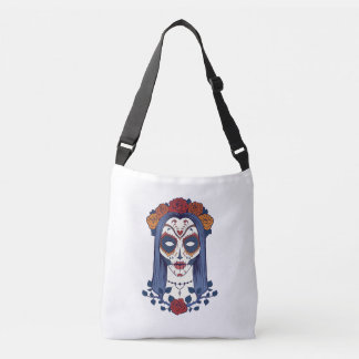 Woman Day of the Dead Crossbody Bag