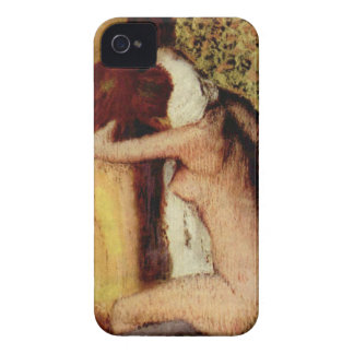 Woman Drying Her Neck by Edgar Degas iPhone 4 Case
